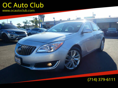 2016 Buick Regal for sale at OC Auto Club in Midway City CA