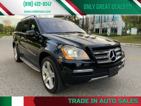 2012 Mercedes-Benz GL-Class for sale at Trade In Auto Sales in Van Nuys CA