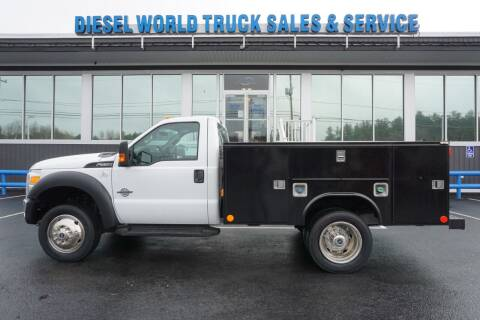 2016 Ford F-550 Super Duty for sale at Diesel World Truck Sales in Plaistow NH