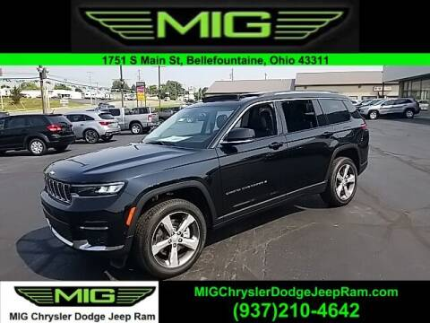 2021 Jeep Grand Cherokee L for sale at MIG Chrysler Dodge Jeep Ram in Bellefontaine OH