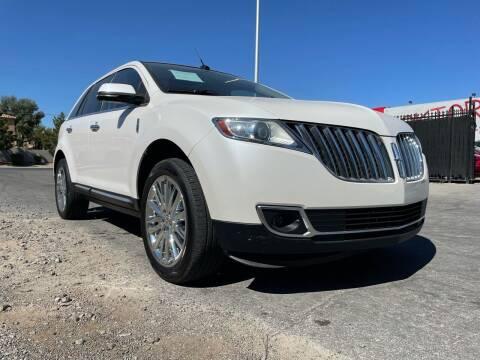 2013 Lincoln MKX for sale at Boktor Motors in Las Vegas NV