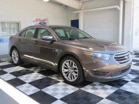 2015 Ford Taurus for sale at McLaughlin Ford in Sumter SC