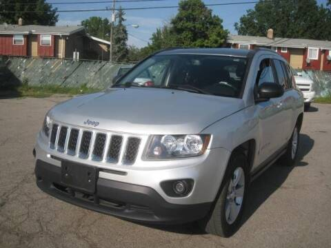 2016 Jeep Compass for sale at ELITE AUTOMOTIVE in Euclid OH