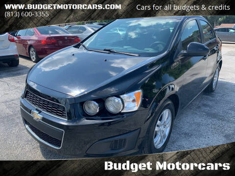 2016 Chevrolet Sonic for sale at Budget Motorcars in Tampa FL