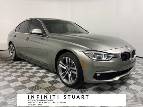 2018 BMW 3 Series for sale at Infiniti Stuart in Stuart FL