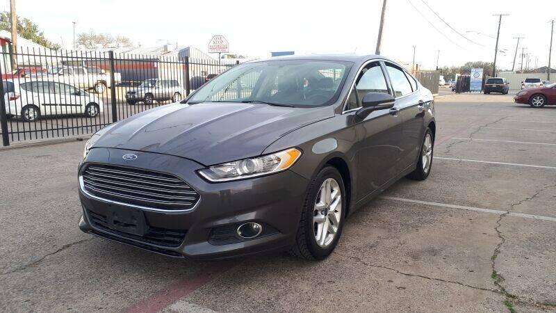 2015 Ford Fusion for sale at A & J Enterprises in Dallas TX
