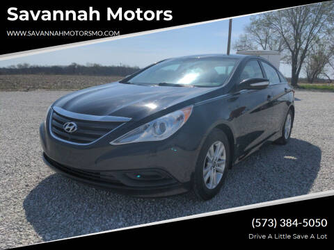 2014 Hyundai Sonata for sale at Savannah Motors in Elsberry MO