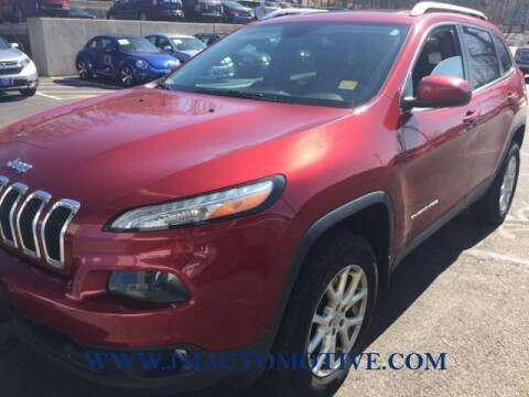 2014 Jeep Cherokee for sale at J & M Automotive in Naugatuck CT