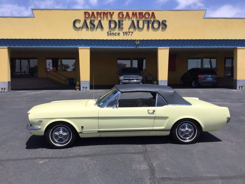 1966 Ford Mustang for sale at CASA DE AUTOS, INC in Las Cruces NM