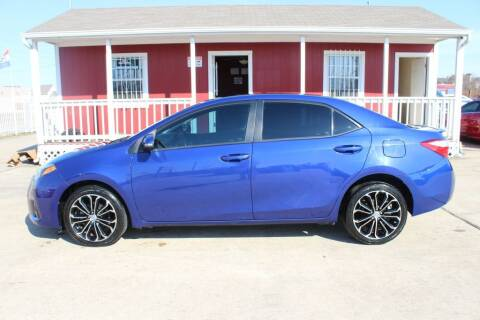 2015 Toyota Corolla for sale at AMT AUTO SALES LLC in Houston TX