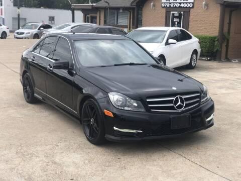 2014 Mercedes-Benz C-Class for sale at Safeen Motors in Garland TX