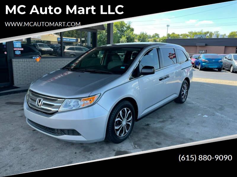 2013 Honda Odyssey for sale at MC Auto Mart LLC in Hermitage TN