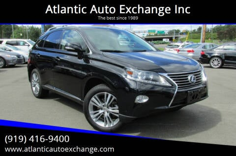 2015 Lexus RX 350 for sale at Atlantic Auto Exchange Inc in Durham NC