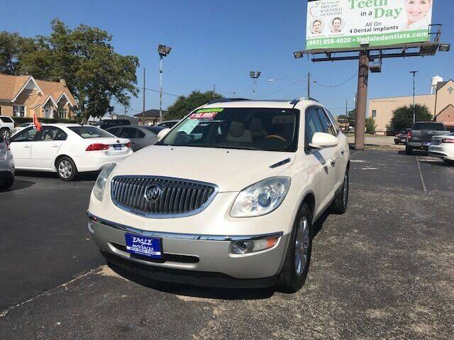 2011 Buick Enclave for sale at EAGLE AUTO SALES in Lindale TX