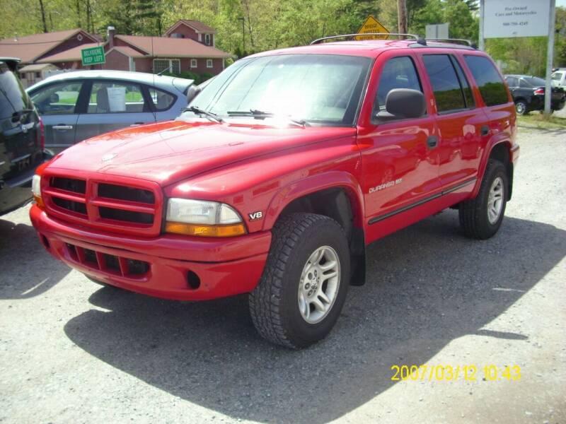 1999 Dodge Durango for sale at Motors 46 in Belvidere NJ