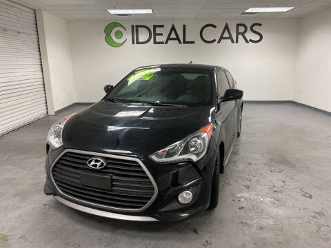 2017 Hyundai Veloster for sale at Ideal Cars Broadway in Mesa AZ