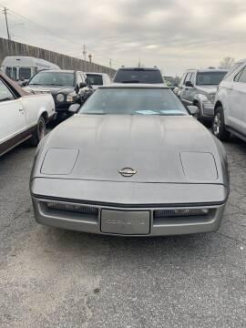 1985 Chevrolet Corvette for sale at J D USED AUTO SALES INC in Doraville GA