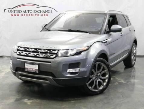 2015 Land Rover Range Rover Evoque for sale at United Auto Exchange in Addison IL