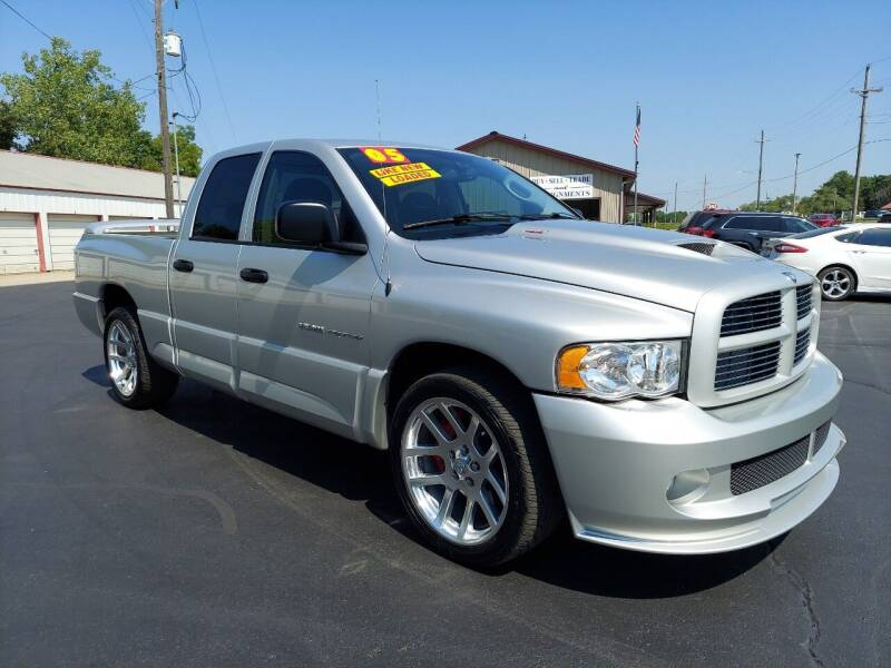 2005 Dodge Ram Pickup 1500 SRT-10 for sale at Holland's Auto Sales in Harrisonville MO