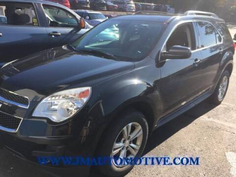 2015 Chevrolet Equinox for sale at J & M Automotive in Naugatuck CT