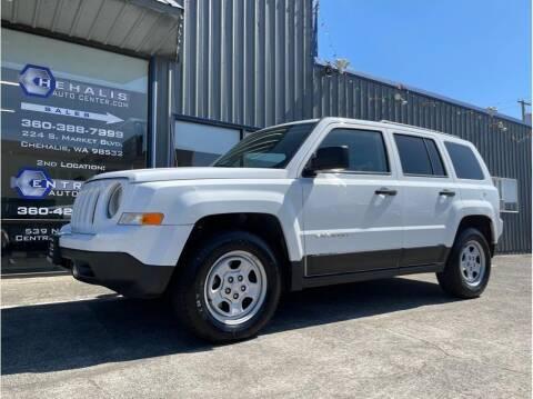 2016 Jeep Patriot for sale at Chehalis Auto Center in Chehalis WA