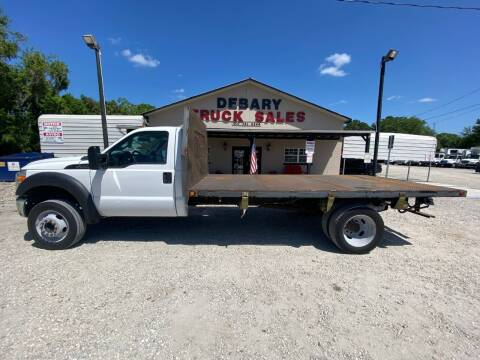 2016 Ford F-550 Super Duty for sale at DEBARY TRUCK SALES in Sanford FL