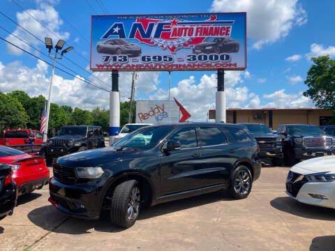 2014 Dodge Durango for sale at ANF AUTO FINANCE in Houston TX