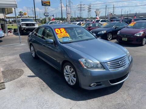 2008 Infiniti M45 for sale at Texas 1 Auto Finance in Kemah TX