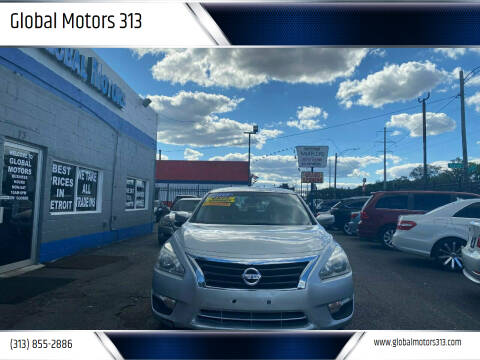 2015 Nissan Altima for sale at Global Motors 313 in Detroit MI