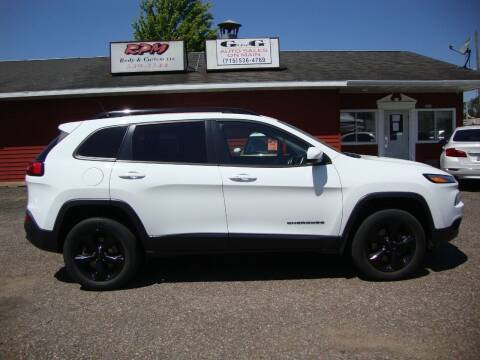2015 Jeep Cherokee for sale at G and G AUTO SALES in Merrill WI