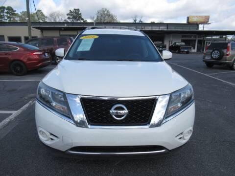 2016 Nissan Pathfinder for sale at Maluda Auto Sales in Valdosta GA