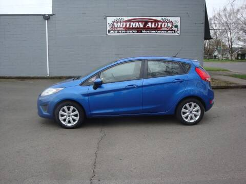 2011 Ford Fiesta for sale at Motion Autos in Longview WA