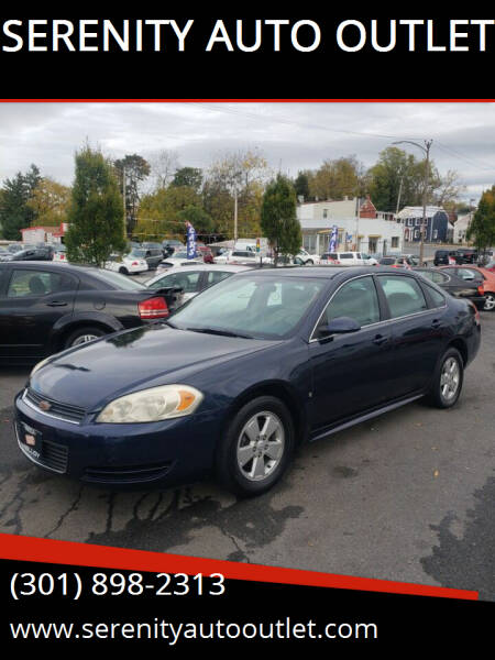 2009 Chevrolet Impala for sale at SERENITY AUTO OUTLET in Frederick MD