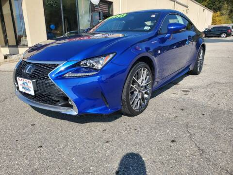 2017 Lexus RC 300 for sale at Auto Wholesalers Of Hooksett in Hooksett NH
