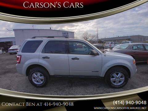 2008 Ford Escape for sale at Carson's Cars in Milwaukee WI