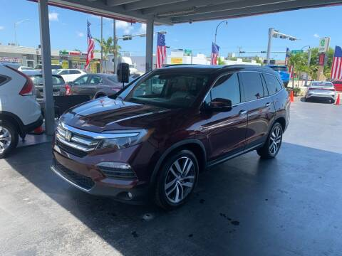 2016 Honda Pilot for sale at American Auto Sales in Hialeah FL