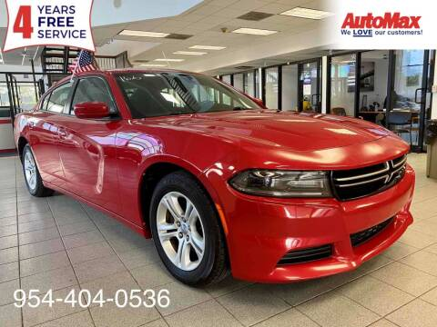 2015 Dodge Charger for sale at Auto Max in Hollywood FL