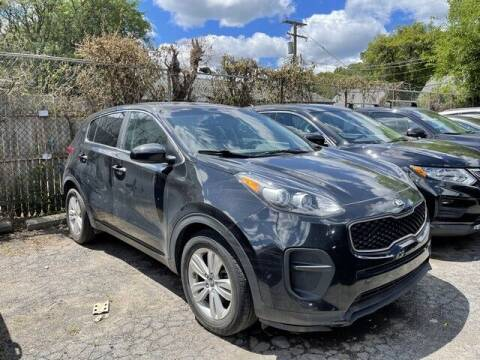2017 Kia Sportage for sale at SOUTHFIELD QUALITY CARS in Detroit MI