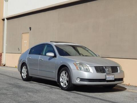 2004 Nissan Maxima for sale at Gilroy Motorsports in Gilroy CA