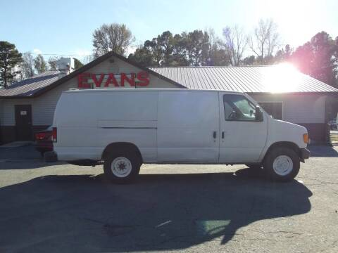 2006 Ford E-Series Cargo for sale at Evans Motors Inc in Little Rock AR