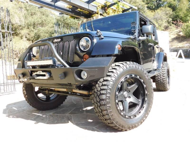 2012 Jeep Wrangler Unlimited for sale at Milpas Motors in Santa Barbara CA