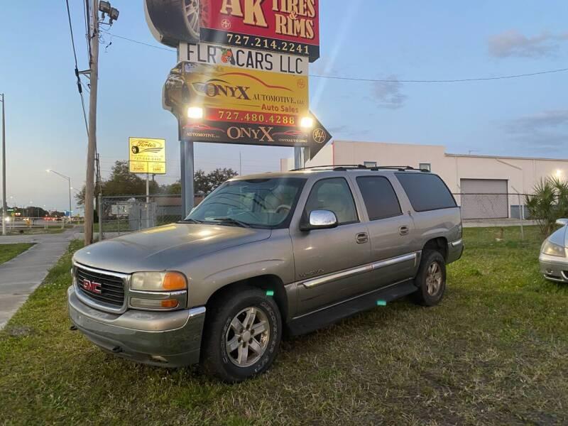 2001 GMC Yukon XL for sale at ONYX AUTOMOTIVE, LLC in Largo FL
