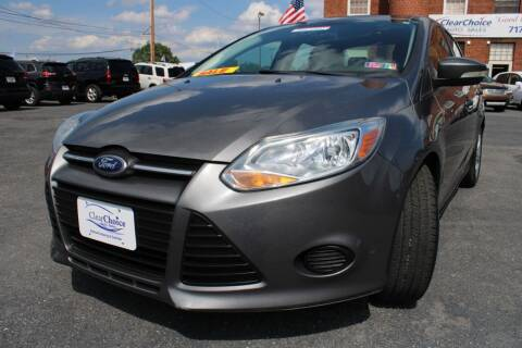 2014 Ford Focus for sale at Clear Choice Auto Sales in Mechanicsburg PA