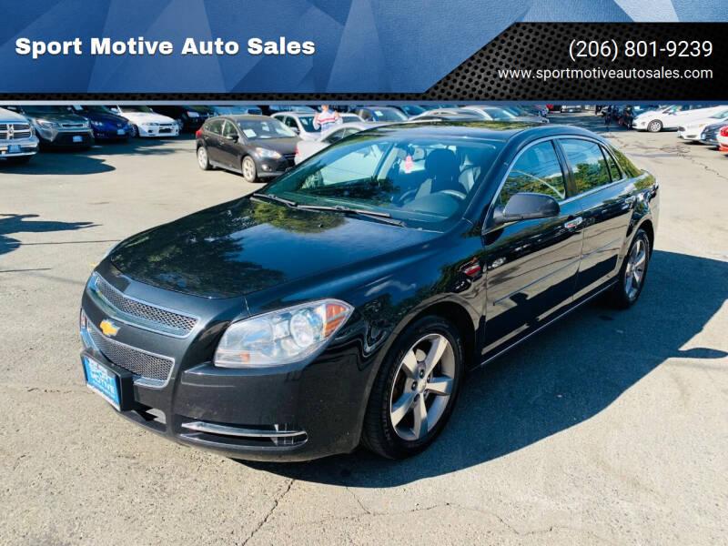 2012 Chevrolet Malibu for sale at Sport Motive Auto Sales in Seattle WA