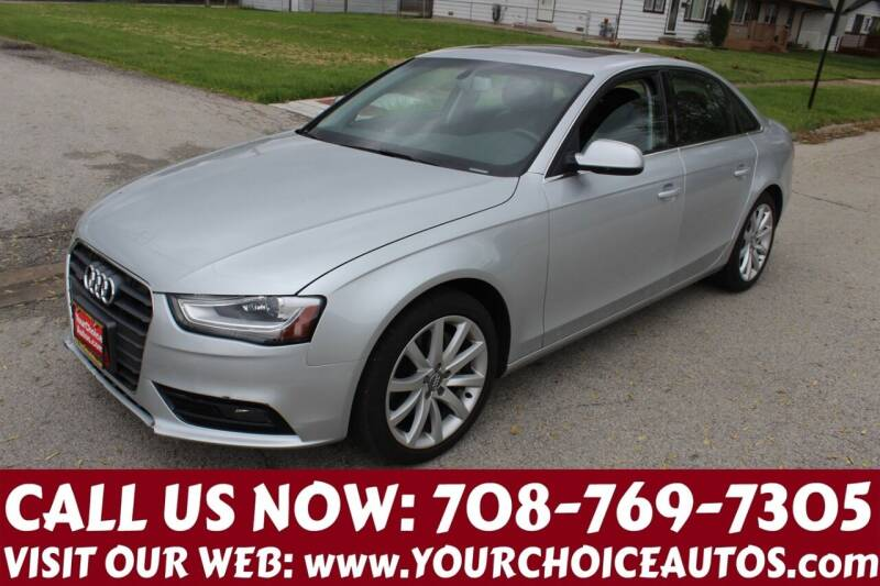 2013 Audi A4 for sale at Your Choice Autos in Posen IL