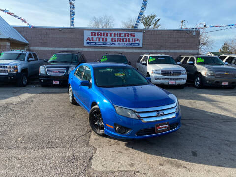 2011 Ford Fusion for sale at Brothers Auto Group in Youngstown OH