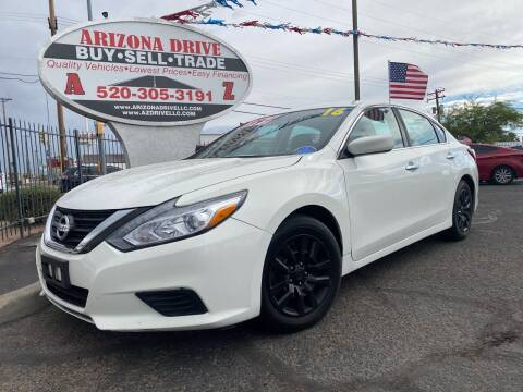2016 Nissan Altima for sale at Arizona Drive LLC in Tucson AZ