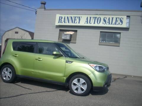 2014 Kia Soul for sale at Ranney's Auto Sales in Eau Claire WI