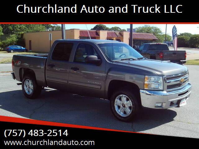 2013 Chevrolet Silverado 1500 for sale at Churchland Auto and Truck LLC in Portsmouth VA