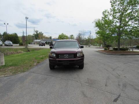 2007 Honda Ridgeline for sale at Heritage Truck and Auto Inc. in Londonderry NH